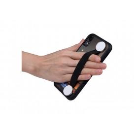 Elastic Band Strap Phone Holder (Black)(10/pack)