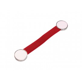 Elastic Band Strap Phone Holder (Red)(10/pack)