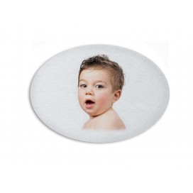 Sublimation Fridge Magnet-Oval(10/pack)