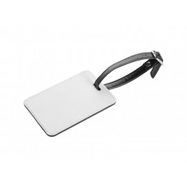 2-Sided PU Leather Luggage Tag (10/pack)