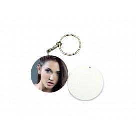 39mm Round Plastic Keychain(10/pack)