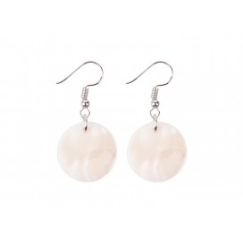 Round Shell Earring(φ20mm)(10/Pack)