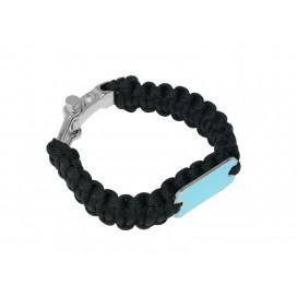 Paracord Bracelet(Black)(10/pack)