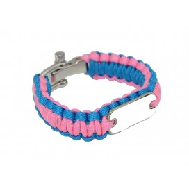 Paracord Bracelet (Pink)(10/pack)
