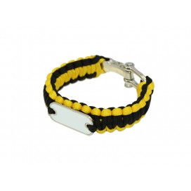 Paracord Bracelet(Yellow)(10/pack)