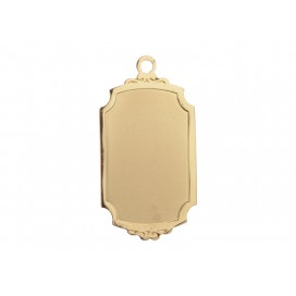 Gold Necklace (Rectangular)(10/pack)