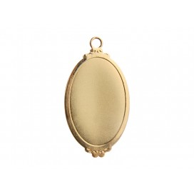 Gold Necklace (Ellipse) (10/pack)