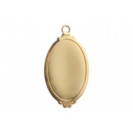 Gold Necklace (Ellipse) (10/pack)