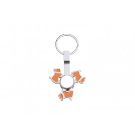 Fidget Spinner Keyring (Dog, Orange)(10/pack)