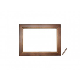 "6""*8"" Photo Frame(Pinewood, two colors available, Dark/light brown) (10/pack)"