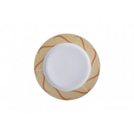 "10"" Plate w/ Golden Pattern(26/pack)"