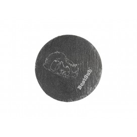 Round Slate Coaster (10/pack)