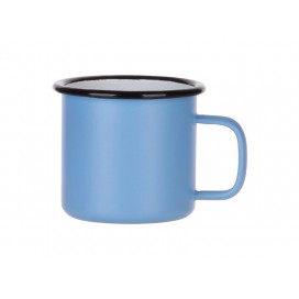 12oz/360ml Enamel Mug (Matt Light Blue)(10/pack)