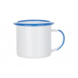 12oz/360ml Inner and Rim Enamel Mug (Light Blue) (48/carton)