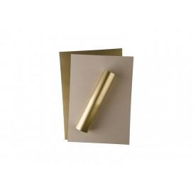Forever Flex-Soft No-Cut Foil A4(Gold Metallic)(100 Sheets)