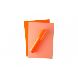 Forever Flex-Soft No-Cut Foil A4(Neon Orange)(100 Sheets)