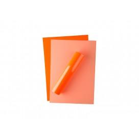 Forever Flex-Soft No-Cut Foil A4(Neon Orange)(100 Sheets)