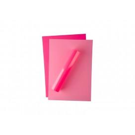 Forever Flex-Soft No-Cut Foil A4(Neon Pink)(100  Sheets)