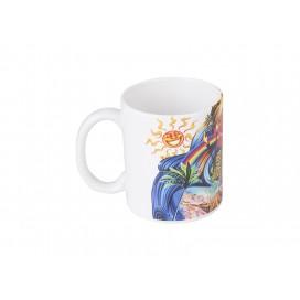 11oz/330ml White Photo Mug -Grade A w/ UV Coating(10/pack)