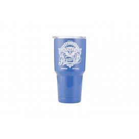 30oz  Stainless Steel Tumbler w/ UV Coating (Blue)(10/pack)