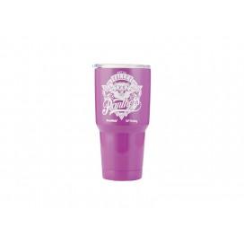 30oz   Stainless Steel Tumbler w/ UV Coating (Purple)(10/pack)