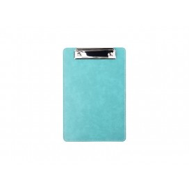 PU Leather Clipboard withMetal Clip(Green, A5 size)   (10/Pack)