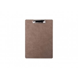 PU Leather Clipboard withMetal Clip(Gray, A4 size)   (10/Pack)