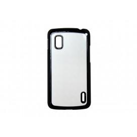 Google Nexus 4 Cover (Plastic,Black) (10/pack)