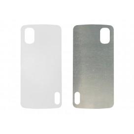Blank Printing Sheet for Google Nexus 4 Cover(Alu) (10/pack)