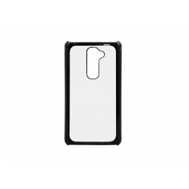 LG G2 Cover ( Plastic, Black) (10/pack)