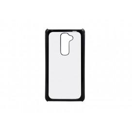 LG G2 Cover ( Plastic, Black) (10/pack)