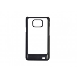 Samsung i9100 Galaxy SII Cover (Black) (10/pack)