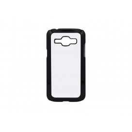Samsung Galaxy J1 Cover W/ Insert (Plastic, Black) (10/pack)