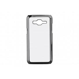 Samsung Galaxy J5 Cover (Plastic,Black) (10/pack)