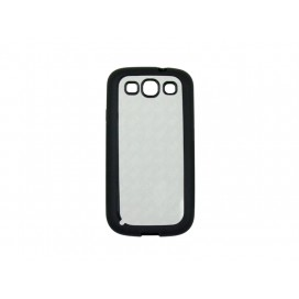 Samsung Galaxy S3 i9300 cover (Rubber,Black) (10/pack)