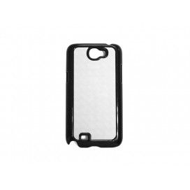 Samsung N7100(Galaxy Note 2) cover (Plastic,Black) (10/pack)