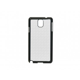 Samsung Galaxy Note 3  Cover(Plastic, Black) (10/pack)