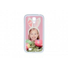 Samsung Galaxy S4 MINI cover (Rubber, White) (10/pack)