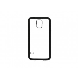 Samsung Galaxy S5 Cover (Rubber,Black) (10/pack)