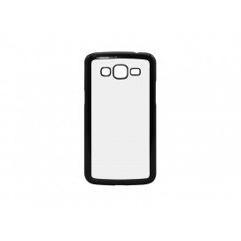 Samsung Galaxy Grand2 G7106  Cover (Plastic, Black) (10/pack)