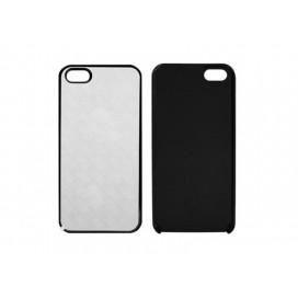 iPhone 5/5S/SE Cover (Burnished  Plastic, Black) (10/pack)
