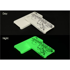 3D iPhone 5/5S cover (Frosted,luminous)(10/pack)