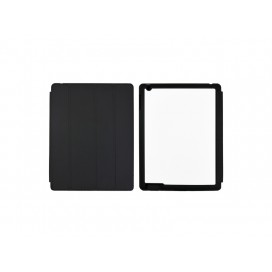 Sub Magnetic Flip  iPad Case  (Black)(10/pack)