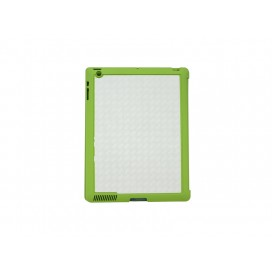 Sub Magnetic Flip  iPad Case  (Green)(10/pack)