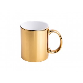11oz Gold Plated Ceramic Mug  (36/pack)