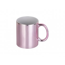 11oz Pink Plated Ceramic Mug  (36/pack)