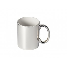 11oz Silver Plated Ceramic Mug  (36/pack)
