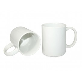 11oz White Coated Mug-GRADE A (36/pack)