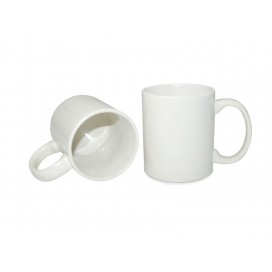 11oz White Coated Mug-Grade B (36/pack)