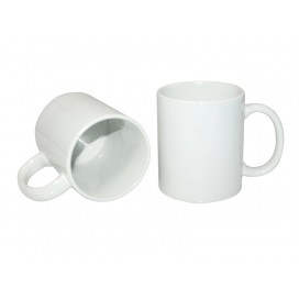 11oz White Coated Mug JS Coating, Dishwasher Safe (36/pack)